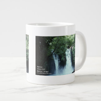 Cascada de Banias Taza De Café Gigante