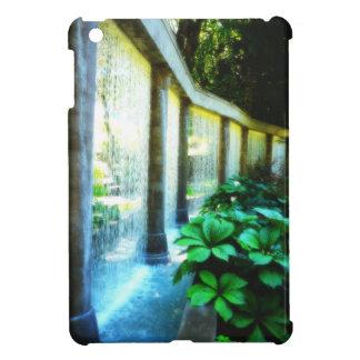 Cascada de conexión en cascada del jardín de la ca iPad mini fundas