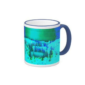 Cascada de Digitaces Taza De Dos Colores