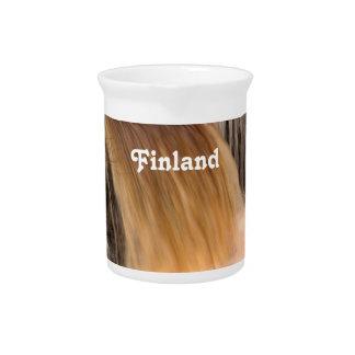 Cascada de Finlandia Jarron