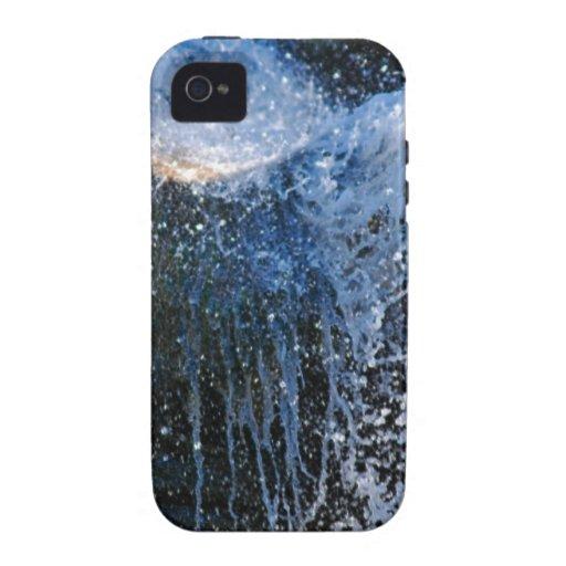 Cascada de forma refrescante diversa vibe iPhone 4 carcasa