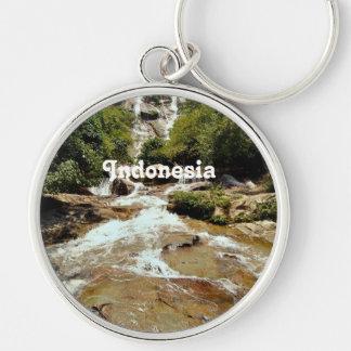 Cascada de Indonesia Llavero