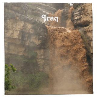 Cascada de Iraq Servilletas De Papel