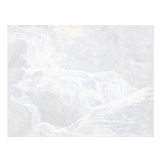 Cascada de John Henry Twachtman- Membrete Personalizado
