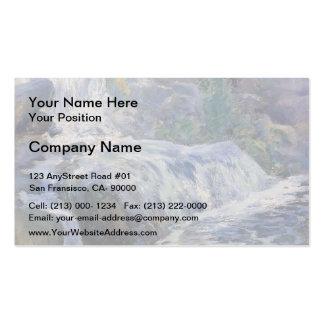 Cascada de John Henry Twachtman- Tarjetas De Visita