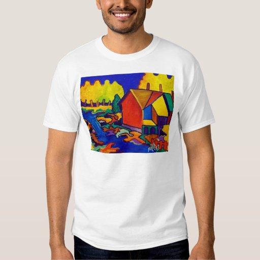Cascada de junio camisas