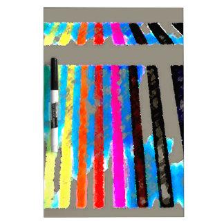 Cascada de la banda del color del espectro del arc pizarras