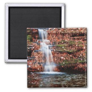 Cascada de la cascada de Pocono Imán Cuadrado