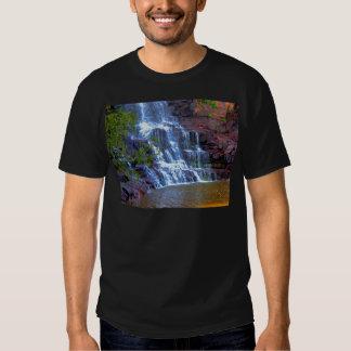 Cascada de la grosella espinosa playeras