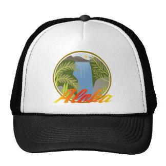 Cascada de la hawaiana gorra
