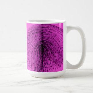 Cascada de la magia negra taza clásica