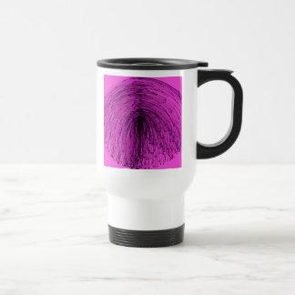 Cascada de la magia negra taza térmica