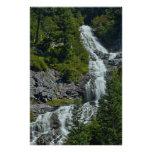 Cascada de la montaña de la cascada impresiones fotográficas