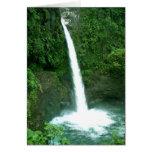 Cascada de La Paz, Costa Rica Tarjeta De Felicitación