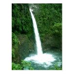 Cascada de La Paz, Costa Rica Tarjeta Postal