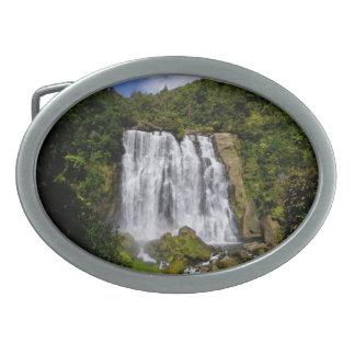 Cascada de Nueva Zelanda Hebillas De Cinturon Ovales