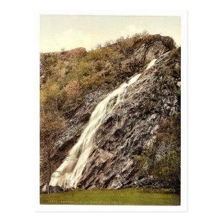 Cascada de Powerscourt Co Wicklow Irlanda P rar Postal