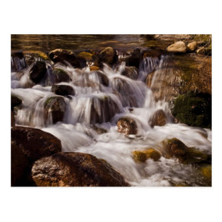 Cascada de Whitney Potrtal, tarjeta de California Postales