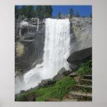 Cascada de Yosemite Poster