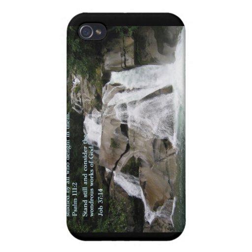 Cascada del 111:2 del salmo iPhone 4/4S fundas