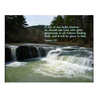 Cascada del 1:5 de James Tarjetas Postales