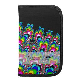 Cascada del arco iris - arte del fractal organizador