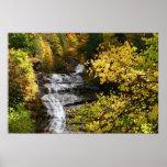 Cascada del otoño impresiones