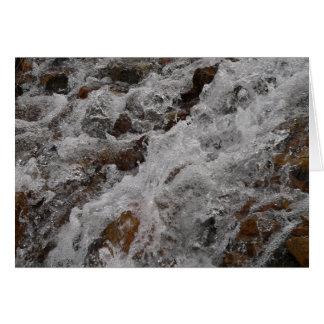 Cascada del paso de Loveland Tarjeta De Felicitación
