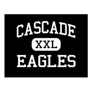 Cascada - Eagles - High School secundaria - Dorris Tarjetas Postales