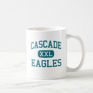 Cascada - Eagles - High School secundaria - Dorris Taza Básica Blanca
