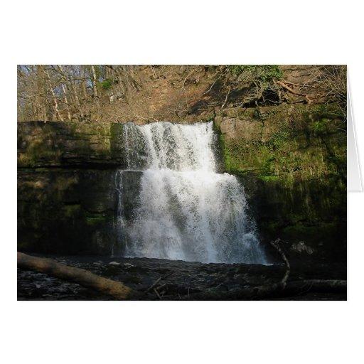Cascada, el Sur de Gales Tarjeta De Felicitación