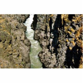 Cascada en la garganta de Klickitat Esculturas Fotográficas