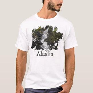 Cascada en las rocas; Recuerdo de Alaska Playera