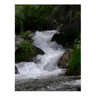 Cascada en Parque Nacional de las Montañas Rocosas Postales
