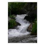Cascada en Parque Nacional de las Montañas Rocosas Tarjeta