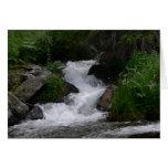Cascada en Parque Nacional de las Montañas Rocosas Tarjetas