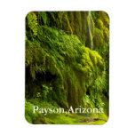 cascada en Payson verde, Arizona Imán De Vinilo