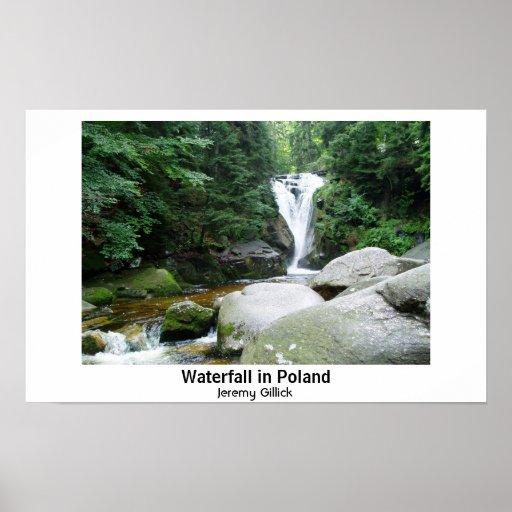Cascada en Polonia Poster