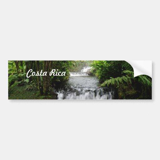 Cascada Etiqueta De Parachoque