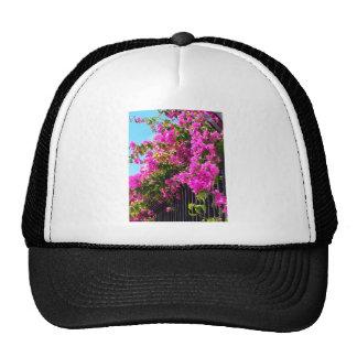 Cascada floral gorro