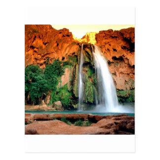 Cascada Havasu Arizona Postales