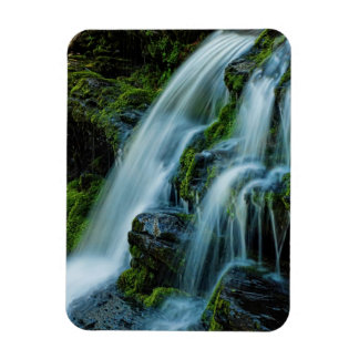 Cascada hermosa de Poconos Rectangle Magnet