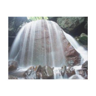 Cascada hermosa impresiones en lona