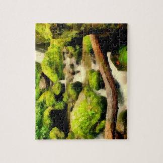 Cascada hermosa puzzles con fotos