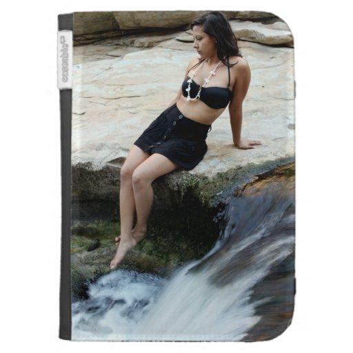 Cascada hispánica de la mujer