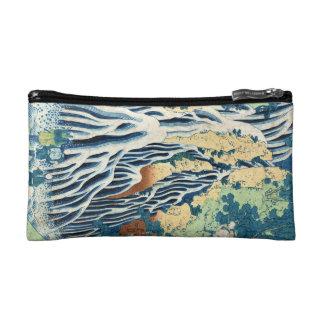 Cascada japonesa fresca de Hokusai del ukiyo-e del