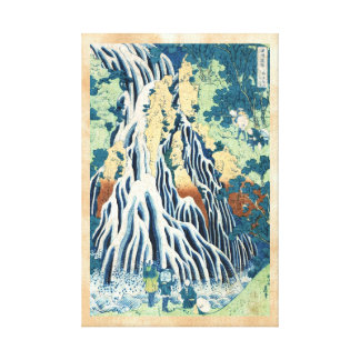 Cascada japonesa fresca de Hokusai del ukiyo-e del Impresion De Lienzo