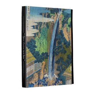 Cascada japonesa fresca Hokusai del ukiyo-e del vi