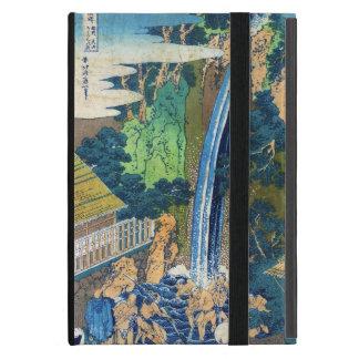 Cascada japonesa fresca Hokusai del ukiyo-e del vi iPad Mini Coberturas