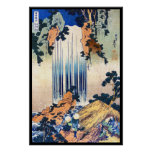 Cascada japonesa fresca Hokusai del ukiyo-e del vi Impresiones